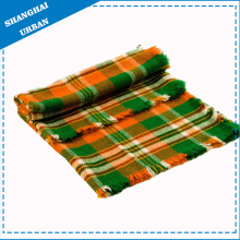 Stripe Bed Cover Fleece Wool Blanket